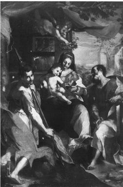 Madonna con Bambino, San Simone e San Giuda