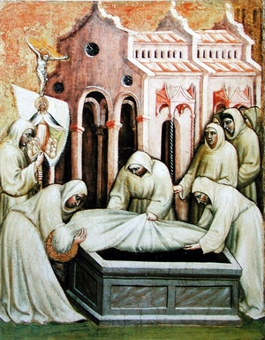 opere di Misericordia: seppellire i morti.