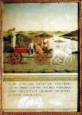 trionfo di Federico da Montefeltro