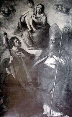 Madonna con Bambino con San Severino e San Rocco