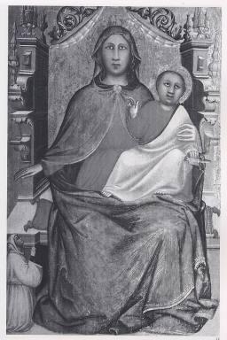 Madonna con Bambino in trono e donatore