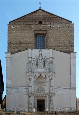 Facciata della Chiesa di San Francesco alle Scale