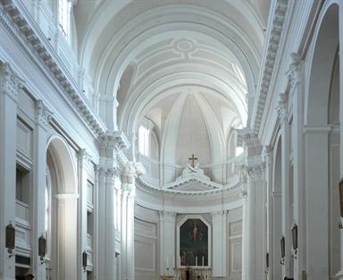 Veduta interna della Chiesa di San Francesco alle Scale