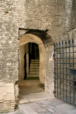Rocca Roveresca, interno