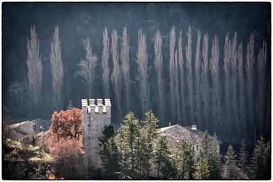 Torre della Rocca e paesaggio circostante