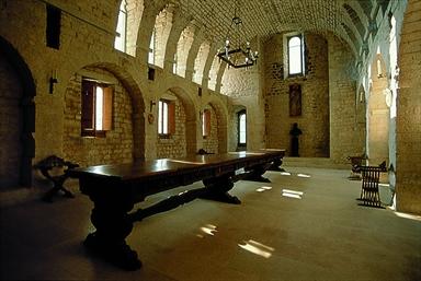 Interno del Monastero di Fonte Avellana