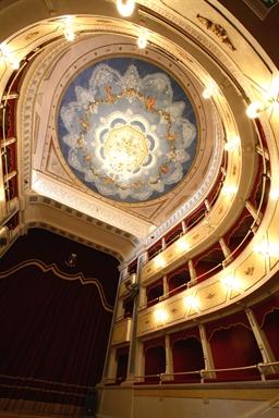 Veduta interna del Teatro Goldoni